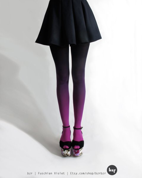 Me And Disko.com // Ombre Tights