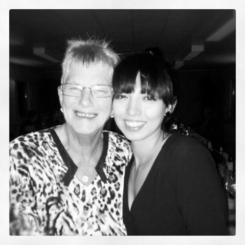 Me And Disko - my grandmother